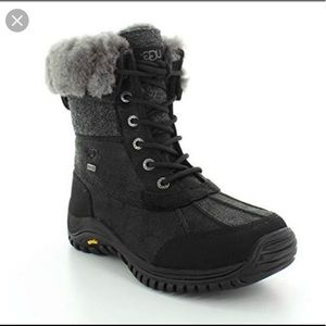 Ugg Adirondack Black Boots